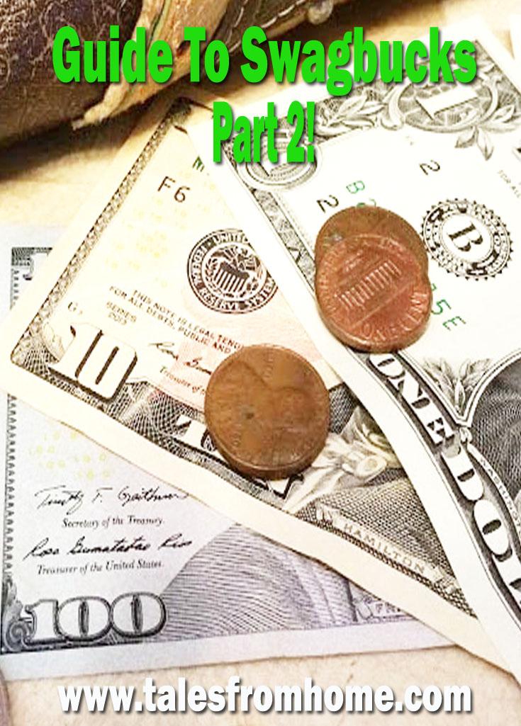 The Second Part of our Guide To Swagbucks! #swagbucks #makingmoney #savingmoney #money #onlinemoney #extramoney