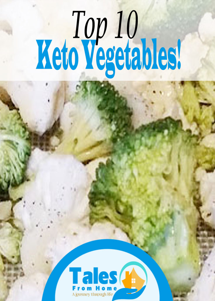 Top 10 Keto Vegetables to have in your Fridge! #keto #lchf #ketovegetables #lowcarb #weightloss #Ketodiet #ketoinformation