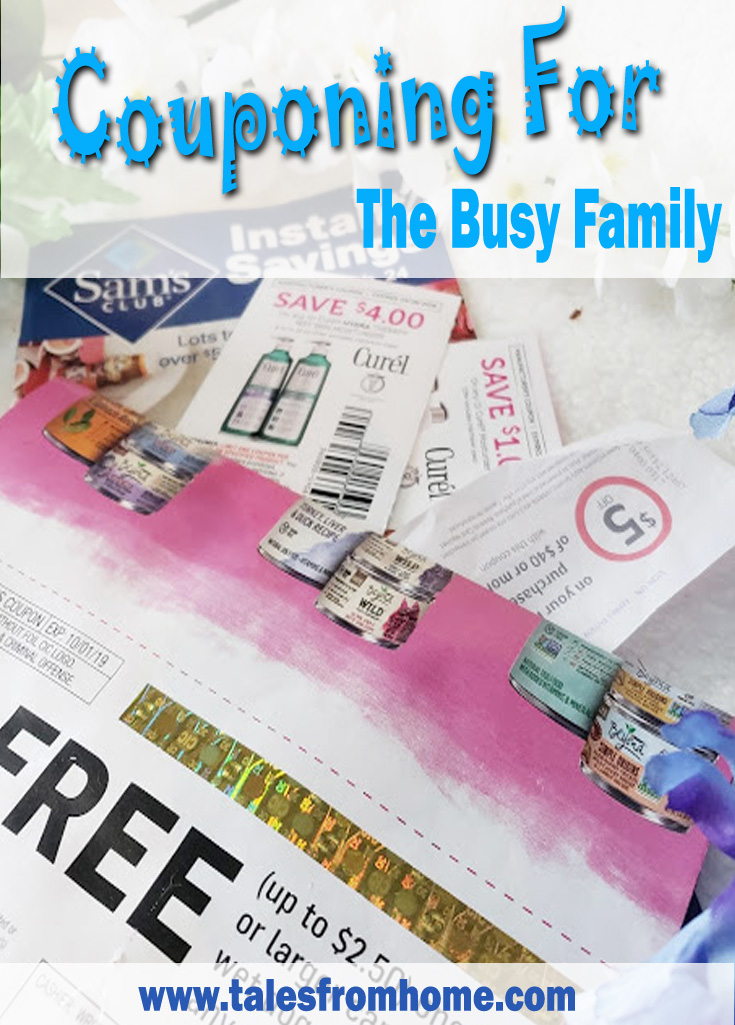 Couponing for Busy Families! #savingmoney #money #family #sahm #busyfamily #money #budget #budgeting