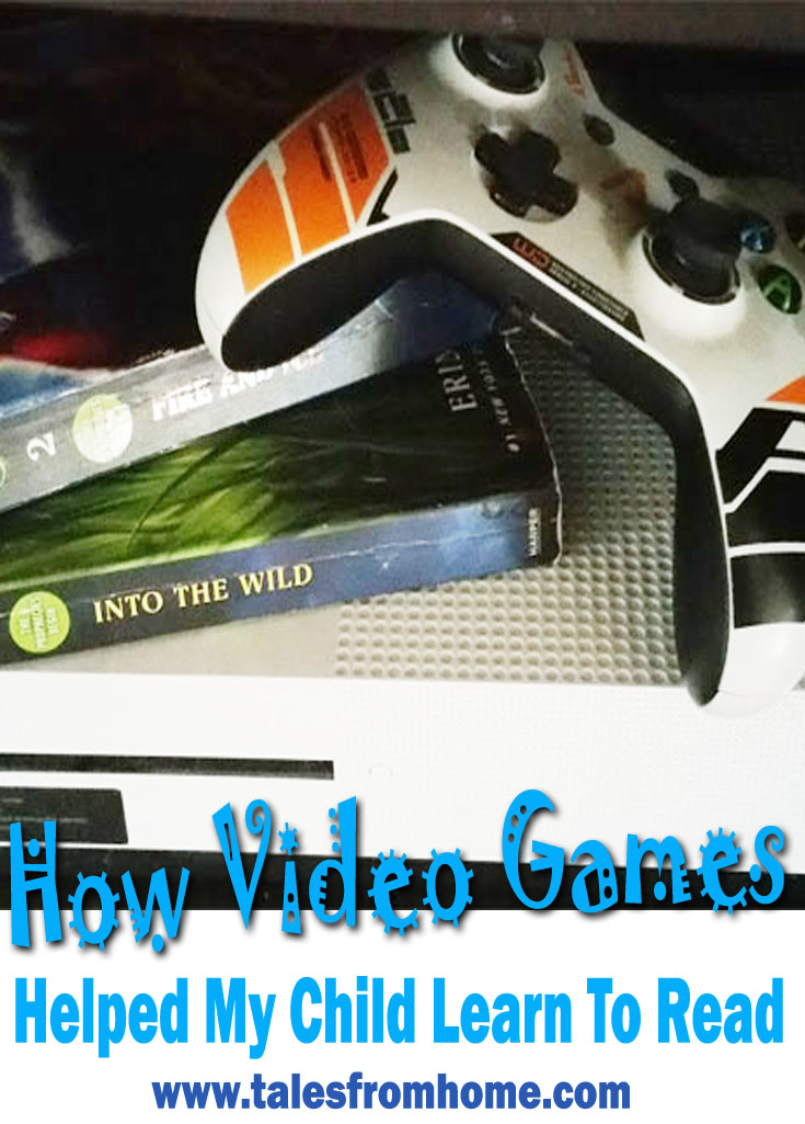 How video games helped my child learn to read! #reading #kids #family #videogames #gaming