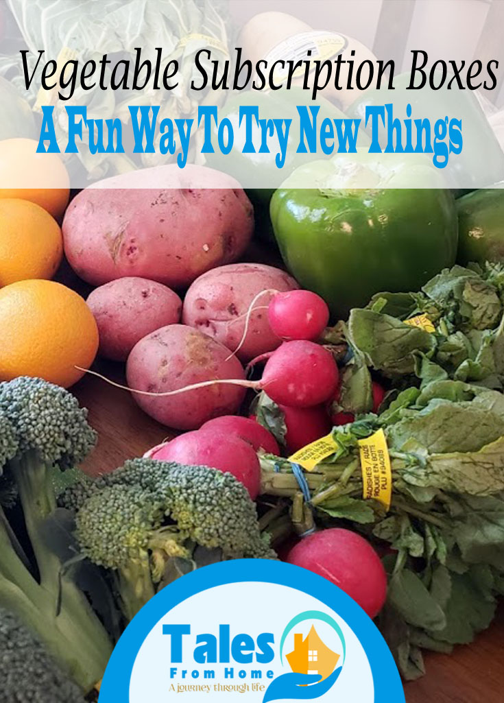 Vegetable Subscription Boxes can be a fun way to try new things and could even save you money at the grocery store! #misfitmarket #subscriptionboxes #grocerystore #familybudget #savingandmakingmoney #groceries #foodcosts