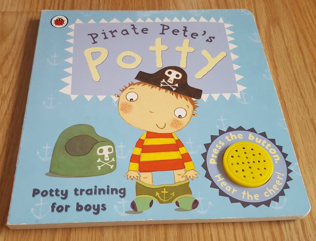 pirate pete's potty - potty training book for toddlers