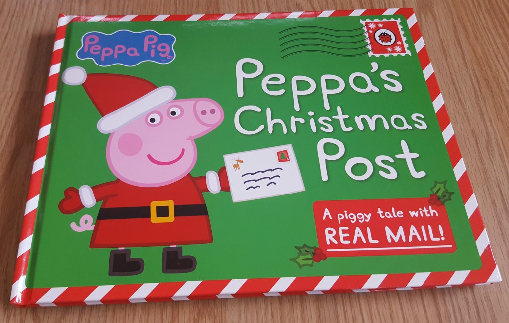 Peppa's Christmas Post - book for toddlers