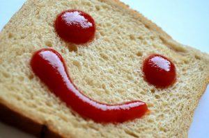 Ketchup Alphabet Food