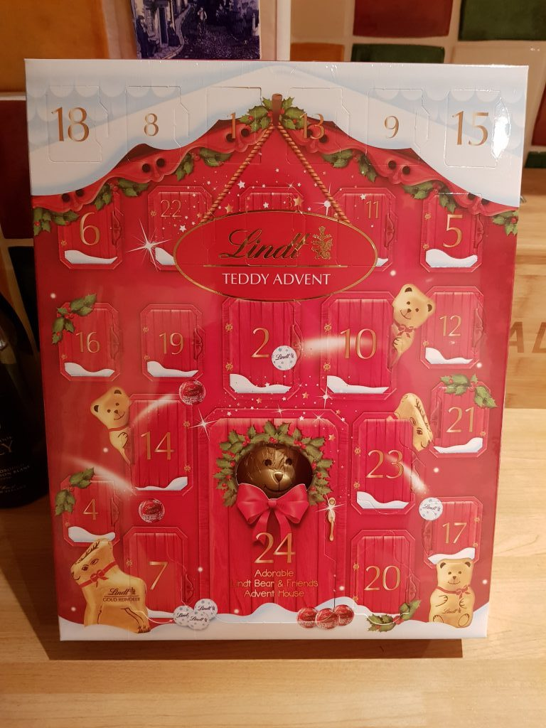 Win a Lindt Bear Advent Calendar…