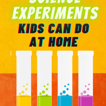 Simple science experiments kids can do at home