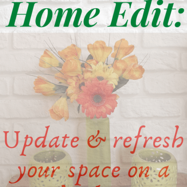 The DIY Home Edit: How to update and refresh your space on a budget