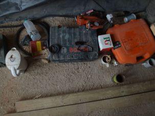 A builder's still life