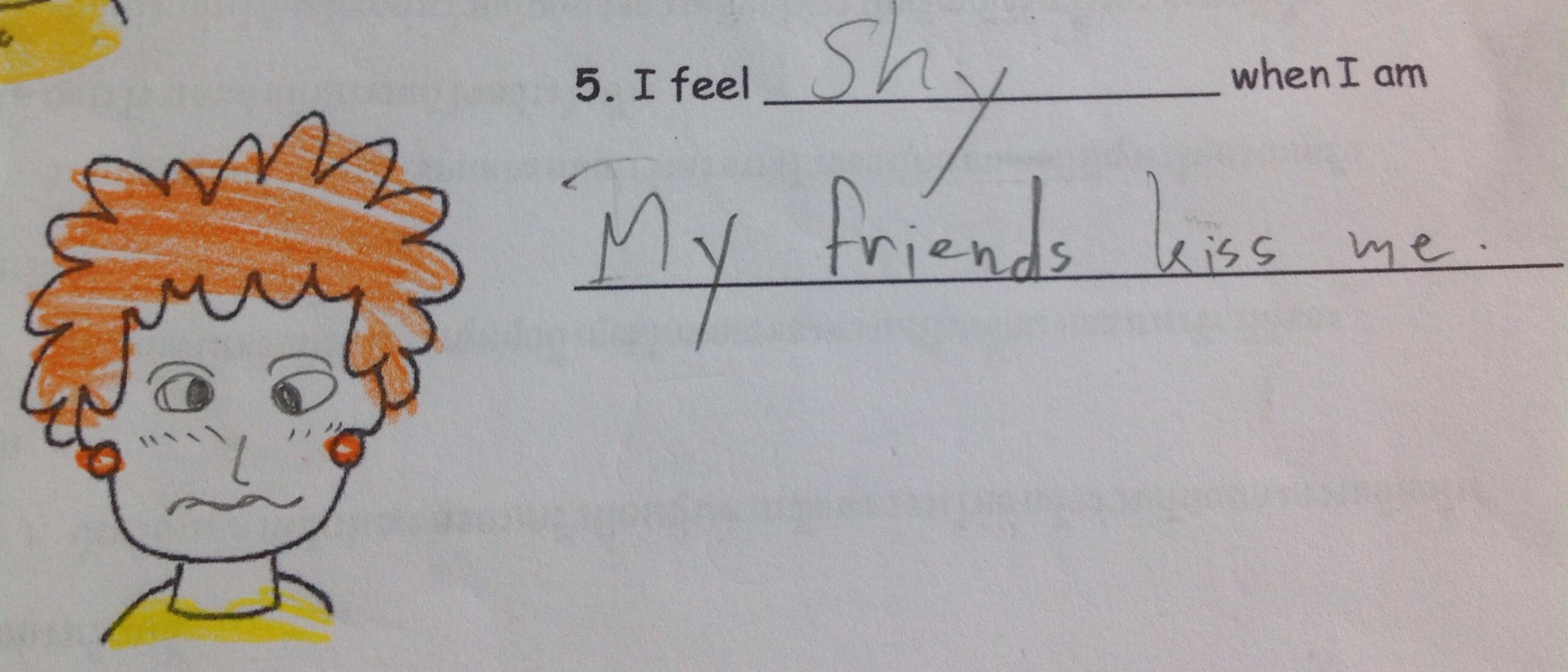 Classroom Ideas I Feel Angry When