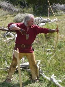 Primitive archery at rendezvous