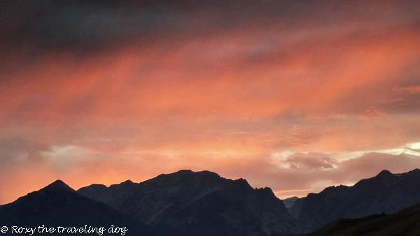See beautiful sunset