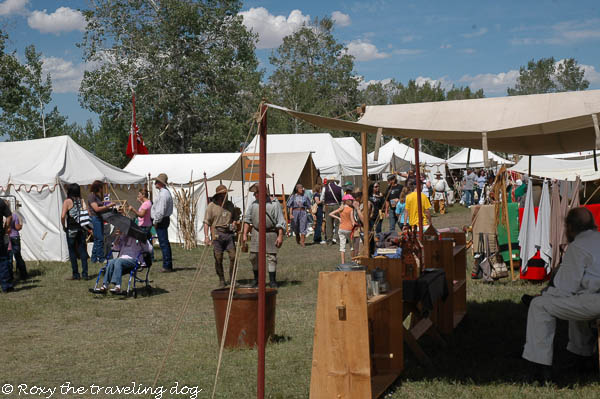 Thursday thoughts with Torrey - Fort Bridger mountain man rendezvous