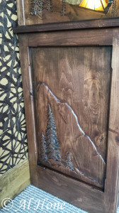artsy fartsy tuesday, hand carved dresser