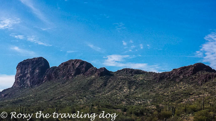 Boondocking near Wickenburg, Arizona, hiking