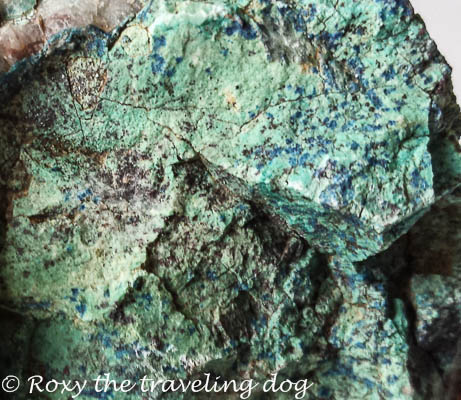 A little macro today, turquoise