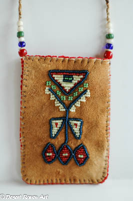 mountain man rendezvous,beadwork,pouch