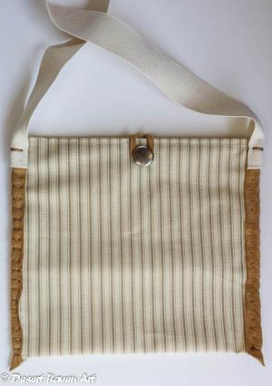 canvas multi purpose purse