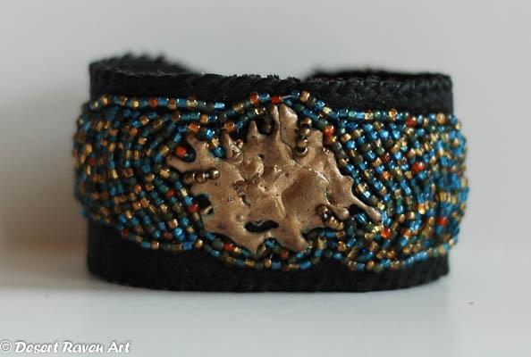 beadwork, bracelet