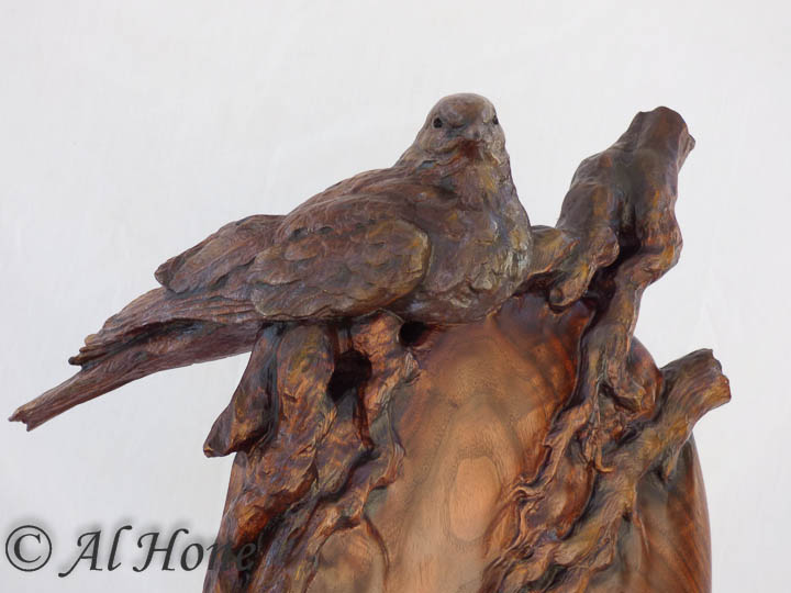 Dove sculpture