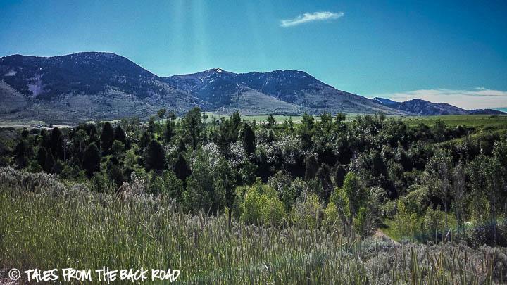 A nice green valley in McCammon, Idaho
