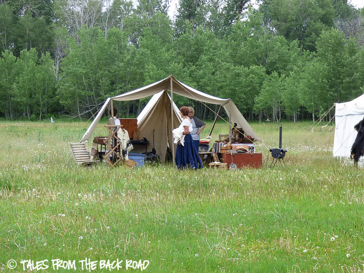 Camp Henry mountain man rendezvous traders
