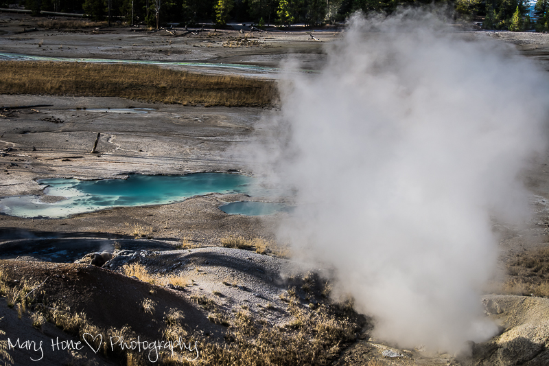 Geysers in Yellowstone, Creepy? Maybe/