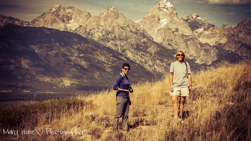 Hiking blacktail butte