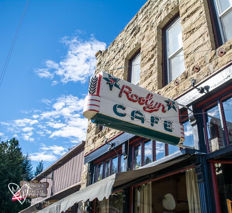 Roslyn, Washington. Roslyn cafe
