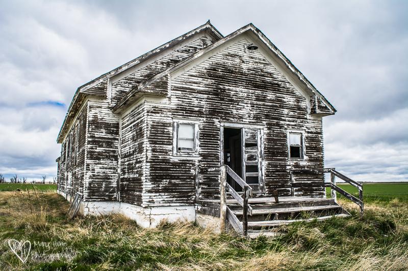 Old building in Nebraska