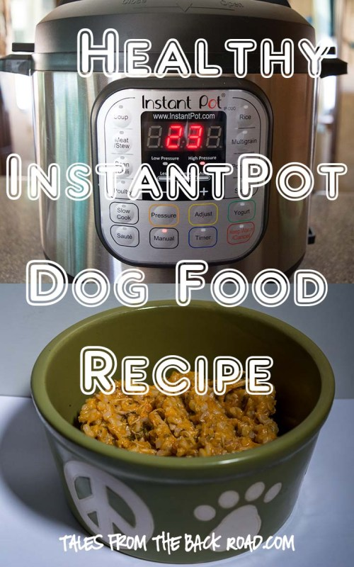 Healthy InstantPot Dog Food Recipe