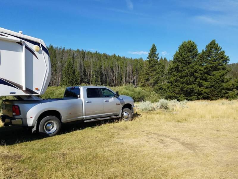 Silver the big ass truck. Ram truck