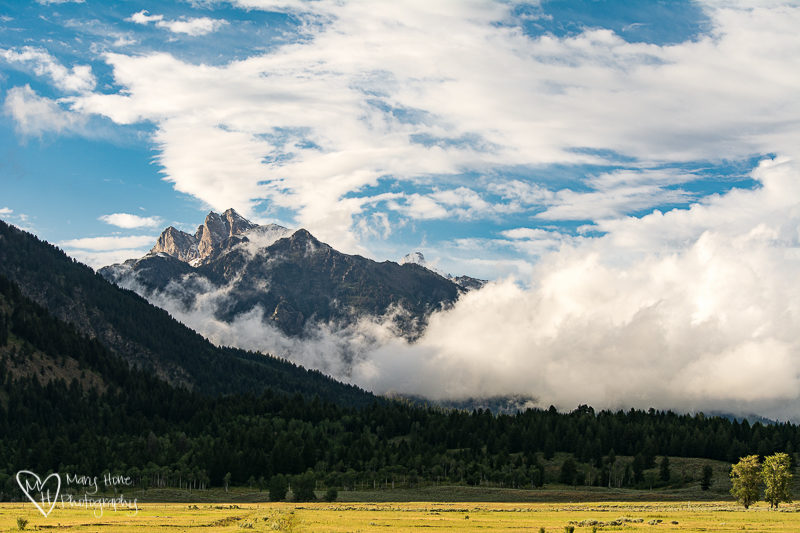 Summer storm over the Tetons