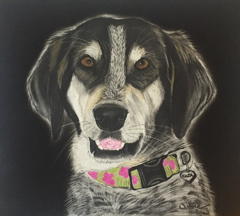 Pet portrait artistry