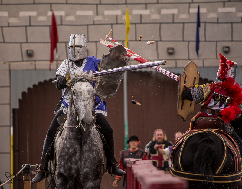 Knights in Shining Armor, jousting