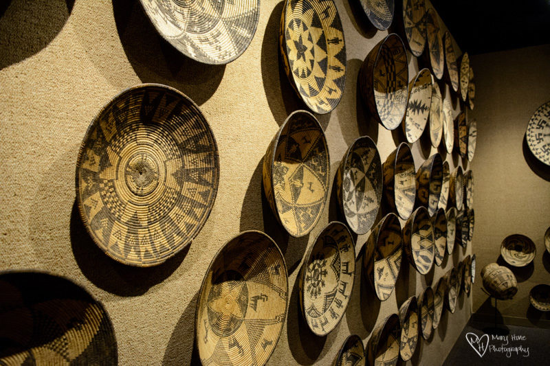 Basha's Art Gallery, antique baskets