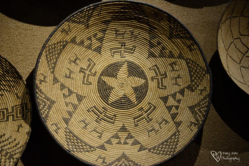 Basha's Art Gallery antique baskets
