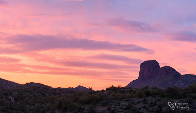 sunrise at vulture peak