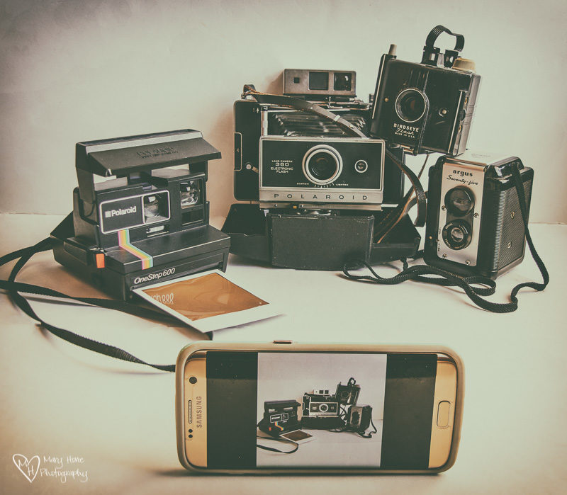 vintage cameras, Artsy Fartsy Tuesday-Photographing Vintage Finds
