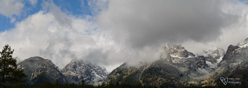 Tetons panoramic