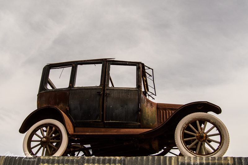 Ford Model T, Cloud Museum-A Treasure of Old Rusty Things