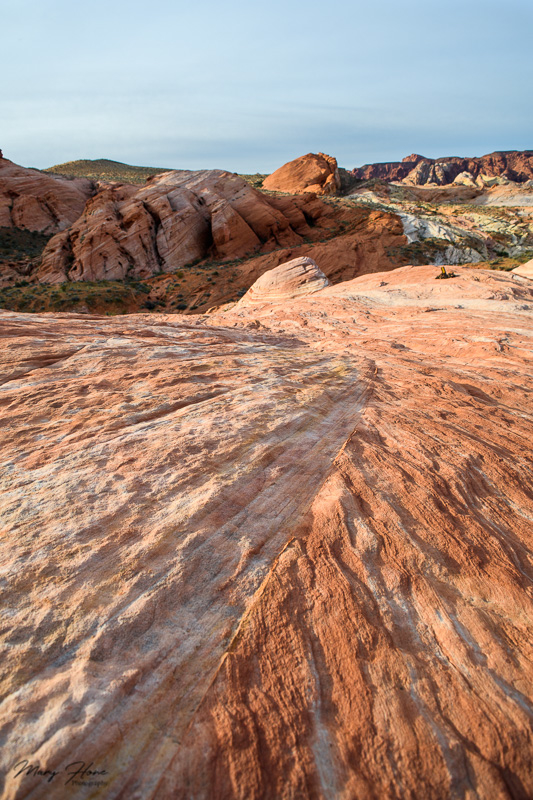 leading lines in photography, valley of fire
