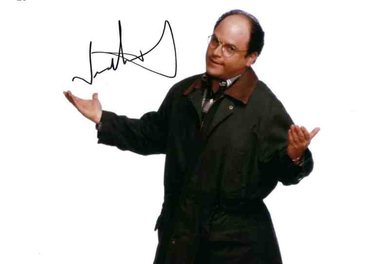 Jason Alexander (Seinfeld) ranks #20 on SCF's list of top TTM celebrity signers