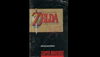 Zelda Cover signed by Tim Girvin