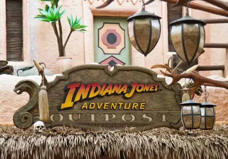 Raymond Kinman Disneyland Indiana Jones Adventure Outpost