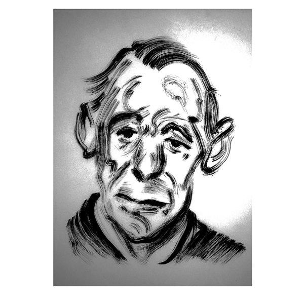 John Deakin by Darren Coffield