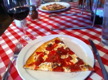 Coal brick-oven pizza at Grimaldi's in Scottsdale