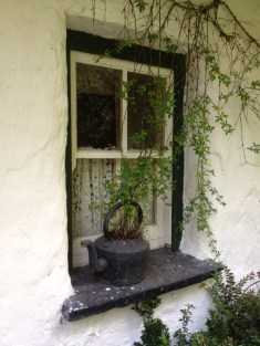 Window scene at Bunratty Castle