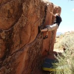 Adventures in Zion – Part 2!  Bouldering where no one boulders