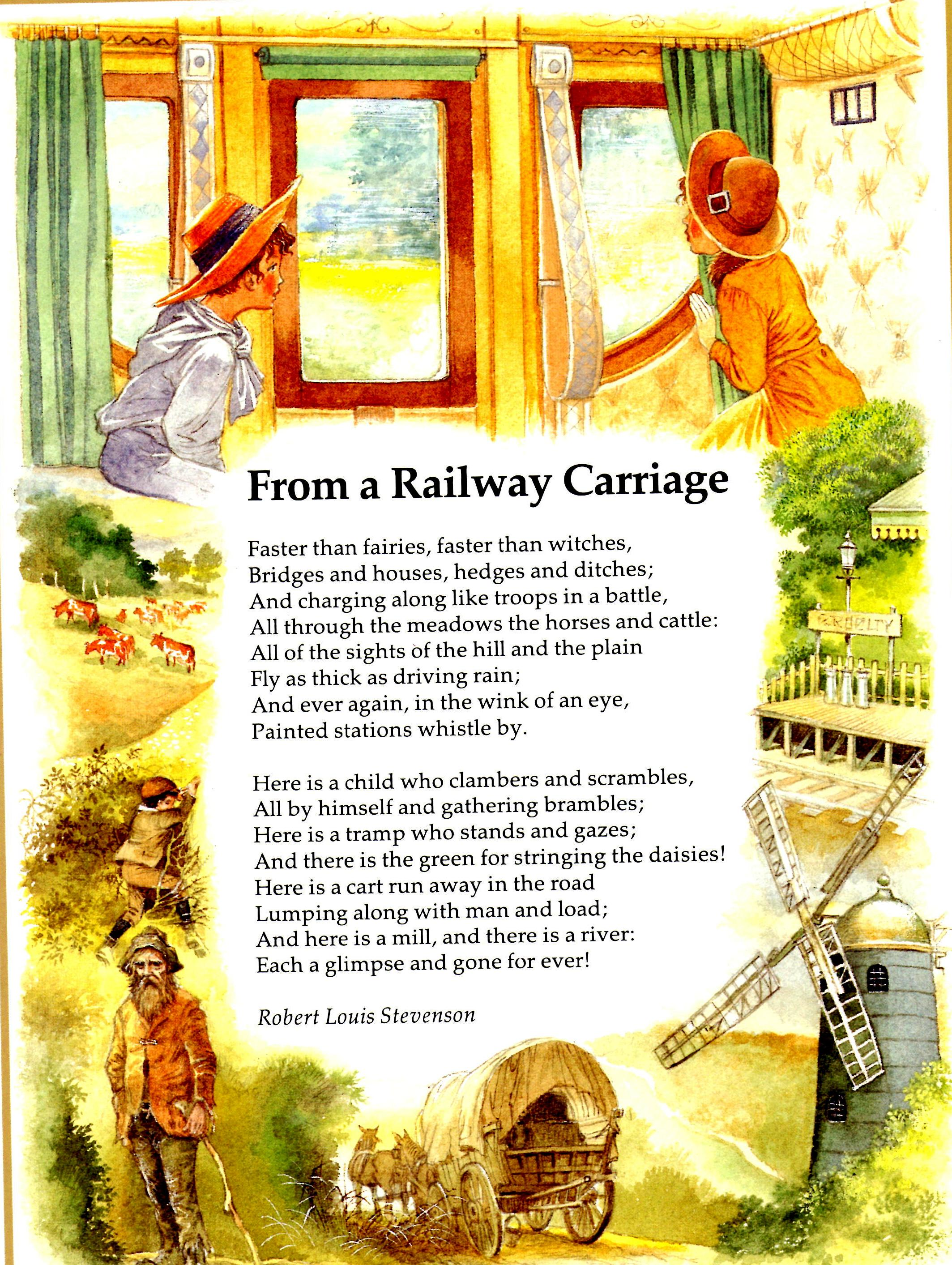 Robert Louis Stevenson From A Railway Carriage Tales