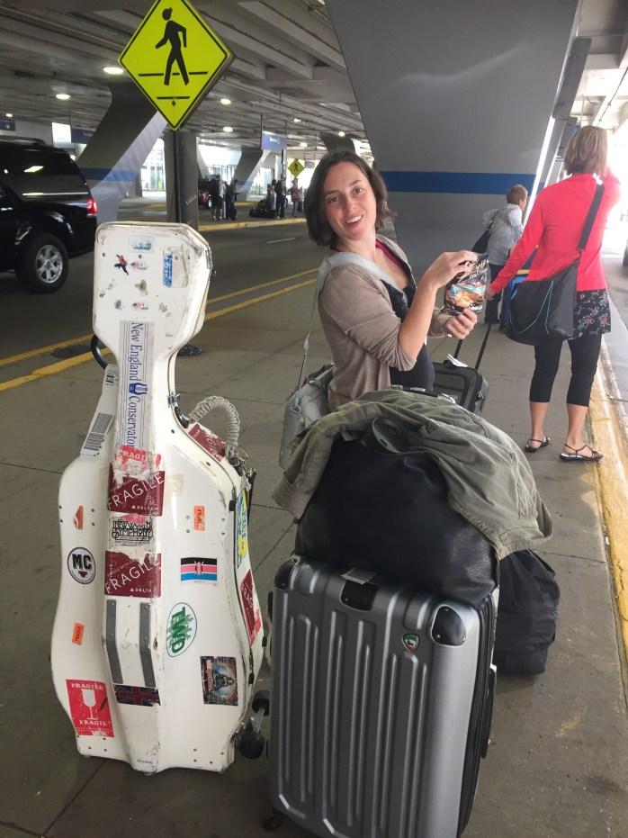 Sarah at Ohare